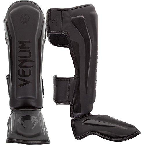 Venum Schienbeinschutz Elite, Neo Matte/Black, XL, EU-VENUM-1394