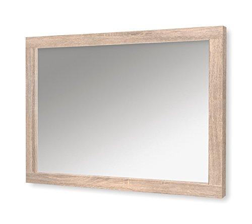 Julian Bowen Hamilton–Espejo de Pared, Madera, marrón, 100x 1,6x 80cm