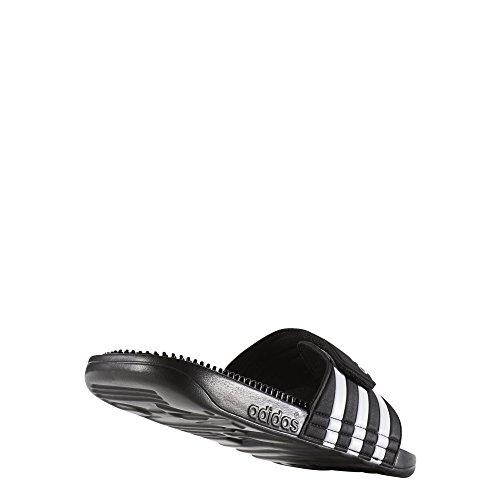 adidas Adissage Fade, Chaussures de piscine et plage homme Noir