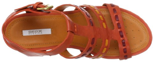 Geox  D NEW Rorie A, sandales femme Marron - Braun (BROWNCOTTO C6003)