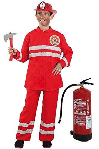 Imagen de disfraz de bombero para niño  único, 3 a 5 años