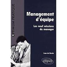 Management d'équipe : les 9 missions du manager