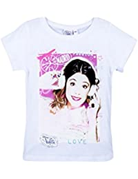 Violetta - Tee shirt manches courtes Violetta blanc - 6 ans,8 ans,10 ans,12 ans
