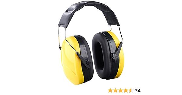 Agt Lärmschutz Universal Kapsel Gehörschutz Für Lärmpegel Bis 98 Db En 352 1 Ohrschutz Drogerie Körperpflege