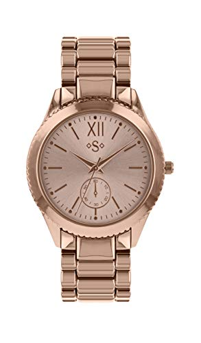 Spirit Womens Analogue Classic Quartz Watch with Stainless Steel Strap ASPL94 Best Price and Cheapest