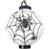 Halloween Kürbis Lichter Dekoration Requisiten Tragbare Lichter Beleuchtete  Beleuchtung Saiten Ghost Kinder Papier Laterne Kronleuchter Hängende