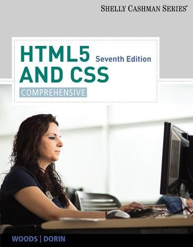 HTML5 and CSS: Comprehensive (Shelly Cashman)
