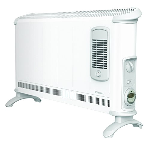 The Dimplex Electric Convector Heater incorporates some great features such as timer, thermostat, and fan boost. The strong construction allows the unit to supply heat without faltering and overall is very well built. It has an impressive 3kw output which ensures that air is circulated and heated according to your requirements which the help of the thermostat and timer. Because the build is of high quality thus the durability of this product should never be in question.