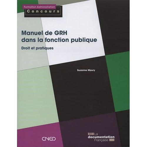 Manuel de GRH dans la fonction publique
