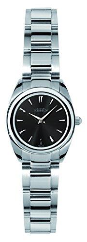 Michel Herbelin Damen-Armbanduhr Ambassador Analog Edelstahl Silber 17128/B14