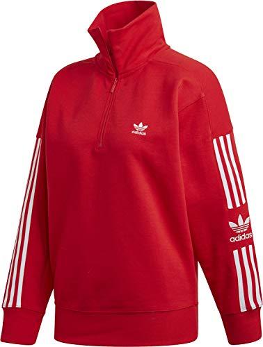 adidas Originals Damen Pullover Lock Up rot 38 -