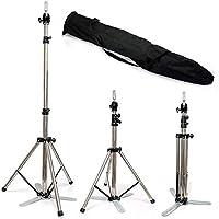 Neverland 84cm-150cm Übungskopfshalter Übungskopfarbeitsständer für Übungskopf Verstellbare Stativ für Frisierkopf…