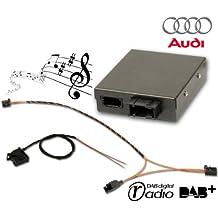 39818–fistune DAB, DAB + intégration pour Audi A1, A6, A7, Q3–Tous les avec centre média Radio (RMC)