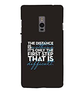PrintVisa Designer Back Case Cover for OnePlus 2 :: OnePlus Two :: One Plus 2 (Quote Love Heart Messages Crazy Express Sorry )
