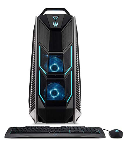 Predator Orion 9000 (PO9-600) Desktop PC (Intel Core i9-9900K, 16GB RAM, 1.000GB HDD, 512GB PCIe SSD, NVIDIA GeForce RTX 2080, Win 10) schwarz