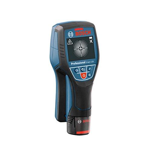 Bosch Professional D-tect 120 Ortungsgerät für Strom-Leitungen, Metall, Holz bis 120mm Tiefe,...
