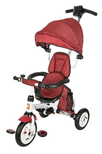 Kidz Motion Niños Tobi Alex 2 Triciclos Bebes, Triciclo Bebe Evolutivo, Triciclos Bebes Evolutivo Plegable