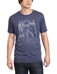 47155cf62 Junk Food Hombres Marina de Guerra de las Galaxias Disco Dancing  Stormtroopers camiseta de