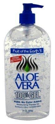 Fruit Of The Earth 100% Aloe Vera 24oz Gel Pump (3 Pack) by Fruit of the Earth preisvergleich