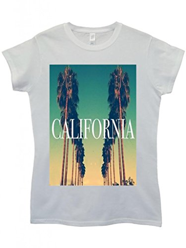 california-city-vintage-retro-cool-funny-hipster-swag-white-weiss-damen-women-top-t-shirt-small