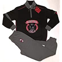 Milan Pijama Afelpado Homewear chándal Producto Oficial de niño para niño d409eb9711d6d