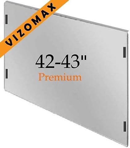 42-43-Zoll-Vizomax TV-Bildschirm-Schutz für LCD, LED und Plasma-HDTV. UV-Schutz, Fernseher-Displayschutz