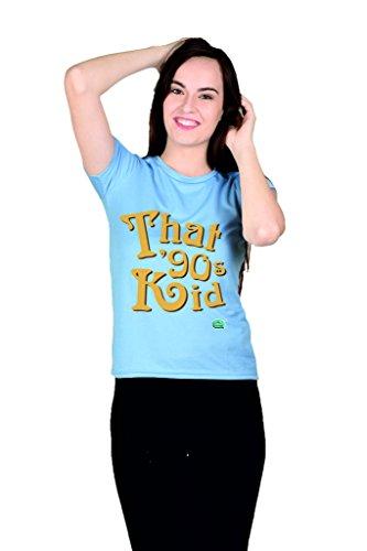 Thats 90 kid Blue Girls Tshirt