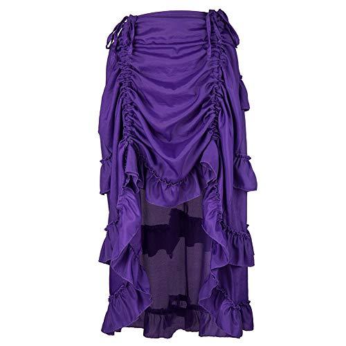 9764f25949 FAMILIZO Faldas Largas Y Elegantes Faldas Cortas Mujer Verano Faldas Mujer  Invierno Primavera Vestidos Falda Steampunk