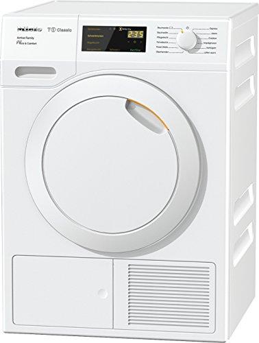 Miele TDD 230 WP Active Family Wärmepumpentrockner/Energieklasse A++ (230kWh/Jahr)/8 kg Schontrommel/Duftflakon für frisch duftende Wäsche/Startvorwahl und Restzeitanzeige/Knitterschutz