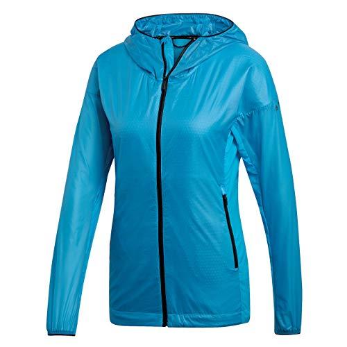 adidas Terrex Agravic Alpha Hooded Shield Jacket Women Shock Cyan Größe DE 36 2019 Funktionsjacke
