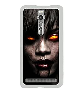 Scary Famous Hollywood Personality 2D Hard Polycarbonate Designer Back Case Cover for Asus Zenfone 2 ZE551ML