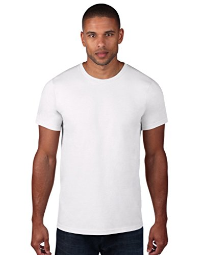 anvil Herren Fashion Basic Tee / 980 White
