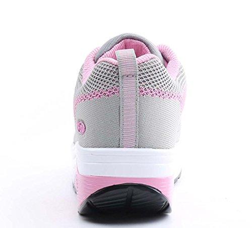 NobS Chaussures Pour Femmes Chaussures Hautes Respirantes Chaussures DéContractéEs Chaussures Chaussures De RandonnéE Chaussures De Cour Pink