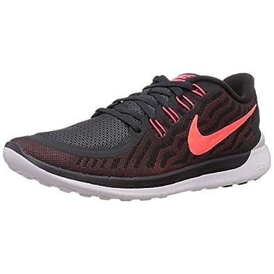 Nike Men's Free 5.0 Running Shoe Anthrct/Brght Crmsn/Unvrsty Rd 9.5 D(M) US