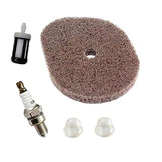 Aisen Air Filter For STIHL FS40 FS40C FS56 FS50 FS50C FS50-L FS56R FS56C FS56RC Fuel Filter Spark Plug Primer Bulb