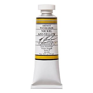 M. Graham 30ml Tube Watercolour Paint, Nickel Azo Yellow