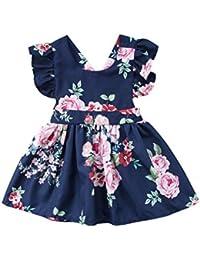 beb935df4 Amazon.es  Última semana - Vestidos   Niñas de hasta 24 meses  Ropa