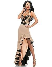 dbfabfb958e1 Ovender® Vestiti Eleganti Lunghi da Donna Ragazza Abito Vestito Donne  Ragazze Impero Formale Elegante Lungo