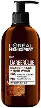 L'Oreal Paris Men Expert Barber Club 3 In 1 Beard, Hair & Face Wash