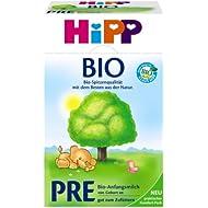 Hipp nourrissons biologique Pre, 4-pack (4 x 600g)