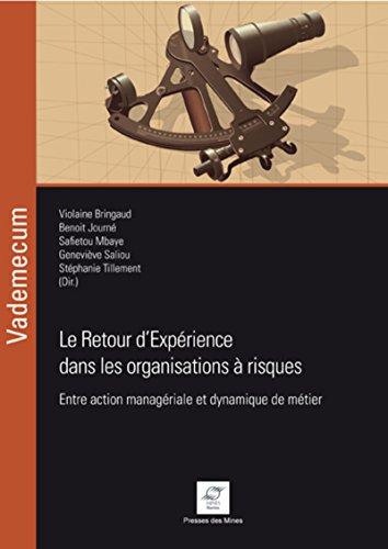Le Retour d'Expérience dans les organisations à risques: Entre action managériale et dynamique de métier.