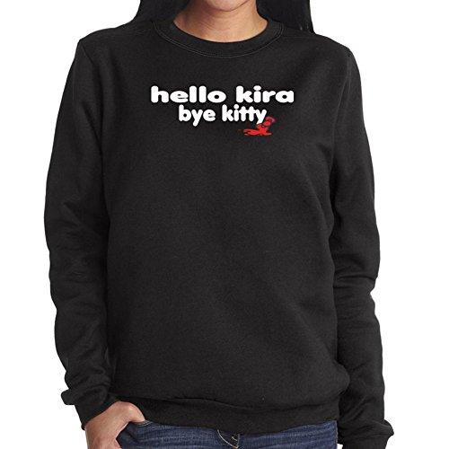 Felpa da Donna Hello Kira bye kitty