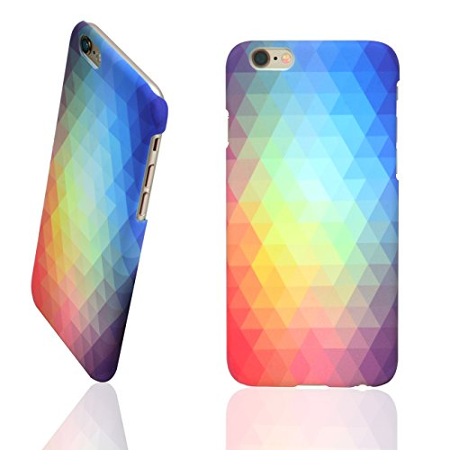 Uni Schutzhülle iPhone 6Plus Graphic Handy Fall, iPhone 6/6s Plus, Regenbogenfarben Plus-handy-fall