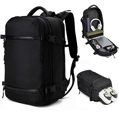 3edb10c673 Ozuko Ordinateur Portable 43,9 cm Sac à Dos étanche Business Voyage  Randonnée à Dos Sac d'école étudiants Sac à Dos 45L