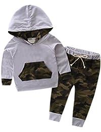 Tefamore Conjunto Sudaderas+Pantalones Ropa de Bebe