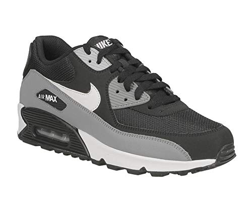 buy popular 110db 1ec21 Nike Air Max 90 Essential, Chaussures de Gymnastique Homme, Noir  (Black White