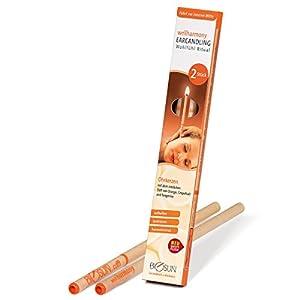 BIOSUN wellharmony Ohrkerzen/Ohrenkerzen mit Sicherheits-Filter. Sinnlicher Duft von Orange, Grapefruit und Tangerine