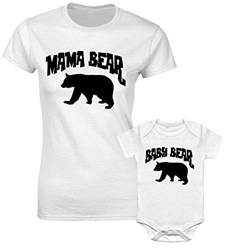 mama-bear-and-baby-bear-mother-mum-mummy-daughter-matching-t-shirts-white-colour-women-and-kids-tees