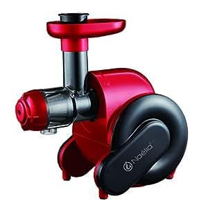 Naelia FPR-55802-NAE Extracteur de Jus Rouge Rubis 32,6 x 18,10 x 34 cm