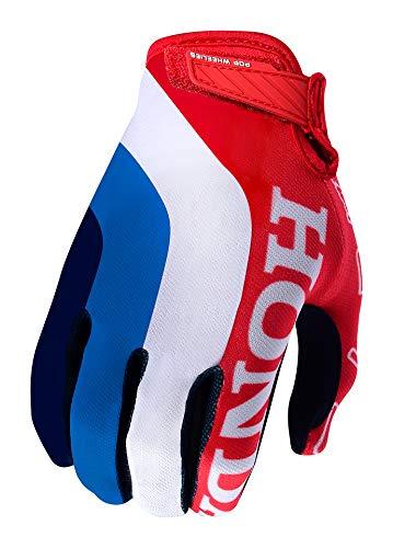 Troy Lee Designs Guantes Mx Honda Air Rojo-Blanco
